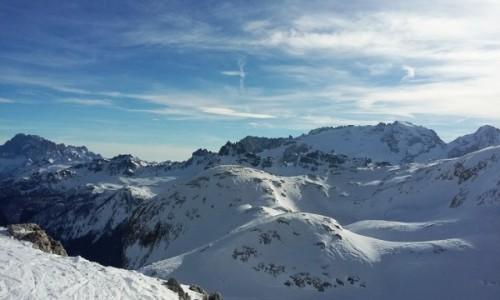 Zdjęcie WłOCHY / Alpy / Dolomity / Dolomity w zimie