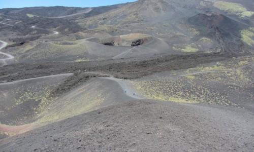 Zdjecie WłOCHY / Sycylia / w drodze na Etnę / Etna