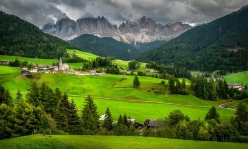 Zdjecie WłOCHY / Dolomity / Santa Maddalena / Dolomity