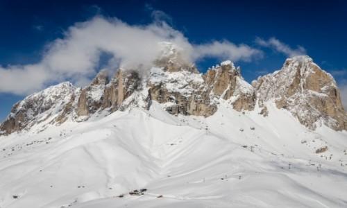 Zdjęcie WłOCHY / Val Gardena / Gruppo del Sella / skałki...
