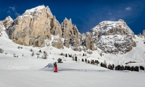 Zdjęcie WłOCHY / Val Gardena / Gruppo del Sella / ski-eden...
