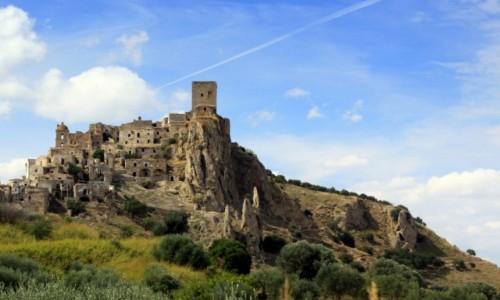 Zdjecie WłOCHY / Basilicata / Craco / Craco - miasto duchów