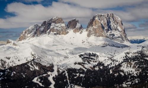 Zdjecie WłOCHY / Południowy Tyrol / Val Gardena / twierdza...