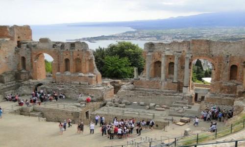 WłOCHY / Sycylia / Taormina / Z podróży po Sycylii.