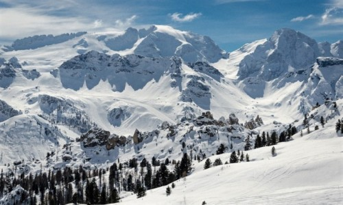 WłOCHY / Południowy Tyrol / Val Gardena / przekornie...