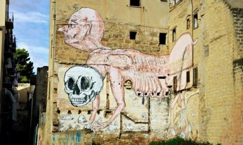 Zdjecie WłOCHY / Sycylia / Palermo / Palermo street (art)