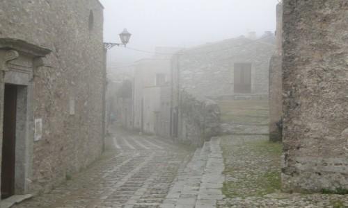 Zdjecie WłOCHY / Sycylia / Erice. / Z podróży po Sycylii - ericejskie mgły (1)