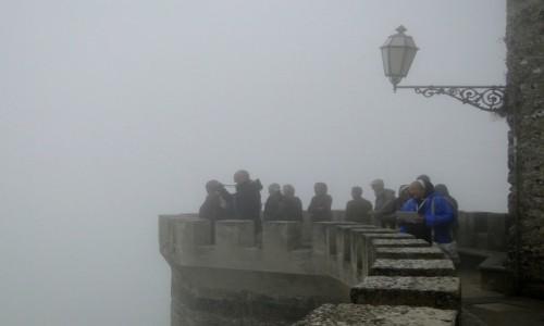 Zdjecie WłOCHY / Sycylia / Erice. / Z podróży po Sycylii - ericejskie mgły (2)
