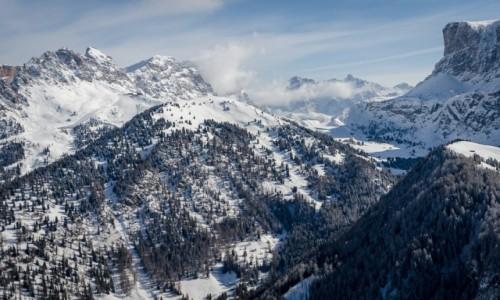 Zdjecie WłOCHY / Południowy Tyrol / Val Gardena / trochę śniegu ;)