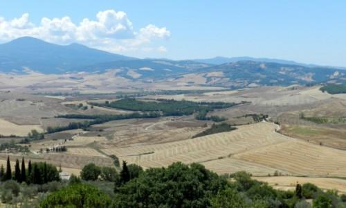 Zdjecie WłOCHY / Toskania / Val d'Orcia / Val d'Orcia