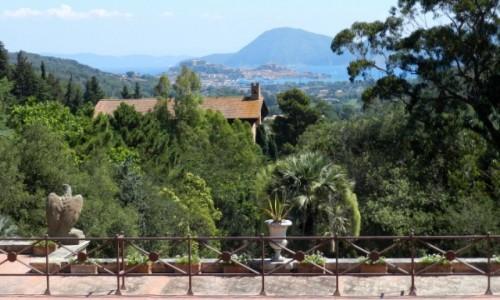 Zdjecie WłOCHY / Toskania / Elba / Widok z domu Napoleona