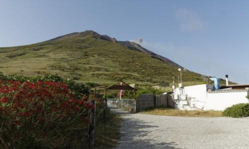 Zdjecie WłOCHY / wyspy eolskie / Stromboli / stromboli gazuje