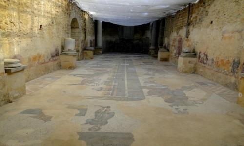 Zdjecie WłOCHY / Sycylia / okolice Piazza Armerina / Z podróży po Sycylii - willa rzymska (3)
