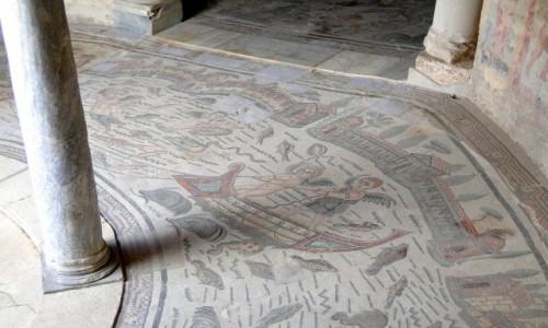 Zdjecie WłOCHY / Sycylia / okolice Piazza Armerina / Z podróży po Sycylii - willa rzymska (5)
