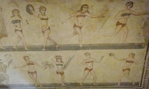 WłOCHY / Sycylia / okolice Piazza Armerina / Z podróży po Sycylii - willa rzymska (7)