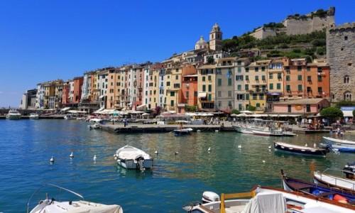 Zdjecie WłOCHY / Liguria / Zatoka Poetów -Portovenere / Portovenere