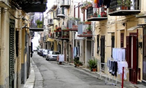 Zdjecie WłOCHY / Sycylia / Monreale / Z podróży po Sycylii - w uliczkach Monreale.