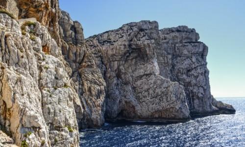 Zdjecie WłOCHY / Sardynia / Sardynia / droga do groty Neptuna