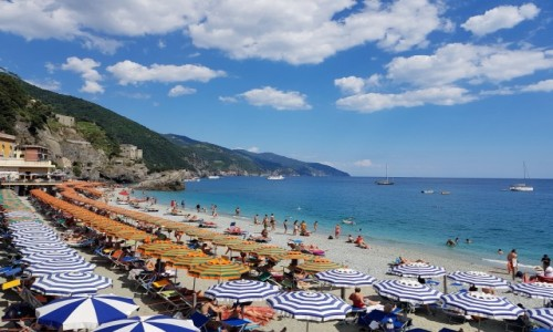 Zdjecie WłOCHY / Liguria/Cinque Terre / Monterosso / Wakacyjna klasyka