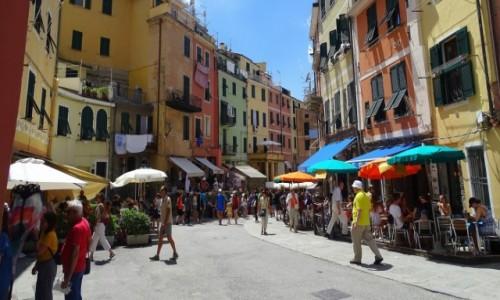 Zdjecie WłOCHY / Liguria/Cinque Terre / Vernazza / Kolory Cinque Terre