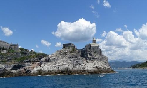 Zdjecie WłOCHY / Liguria/Cinque Terre / Portovenere / Na skalnym cyplu