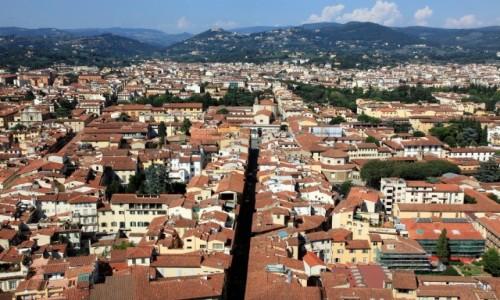 WłOCHY / Toskania / Florencja / Dachy
