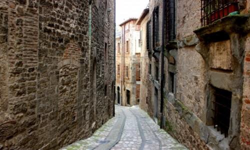 Zdjecie WłOCHY / Umbria / Todi / średniowieczne Todi