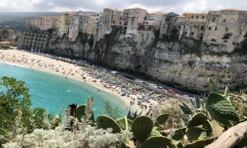 Zdjecie WłOCHY / Calabria / Tropea / Miasto na skale