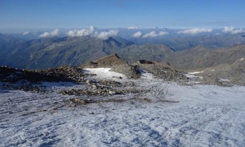 Zdjęcie WłOCHY / Dolina Aosty / Masyw Monte Rosa / Schronisko Mantova 3498m n.p.m.