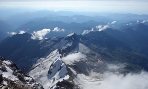 Zdjecie WłOCHY / Dolina Aosty / Masyw Monte Rosa / Punta Gnifetti 4559m n.p.m.