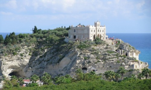 Zdjecie WłOCHY / Kalabria / Tropea / Sanktuarium Santa Maria dell`Insola