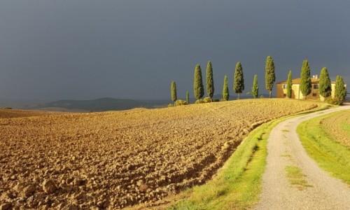 WłOCHY / Toskania / Val d'Orcia / Post nubila Phoebus