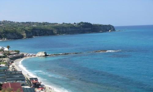Zdjecie WłOCHY / Kalabria / Tropea / Plaże w Tropei