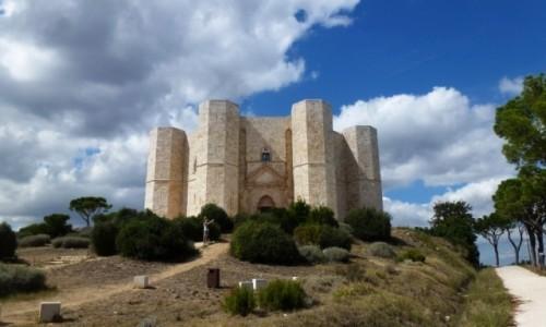 Zdjęcie WłOCHY / Apulia / okolice Andrii / Castel del Monte