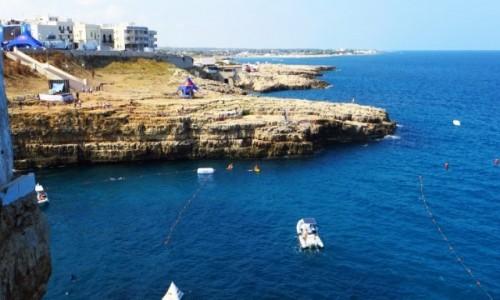 Zdjęcie WłOCHY / Apulia / Polignano a Mare / wybrzeże w Polignano a Mare