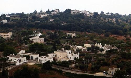WłOCHY / Apulia / Locorotondo / krajobraz Apulii