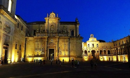 Zdjecie WłOCHY / Salento / Lecce / katedra