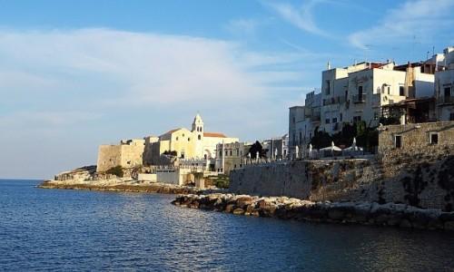 Zdjęcie WłOCHY / Apulia / Półwysep Gargano / widok na Vieste