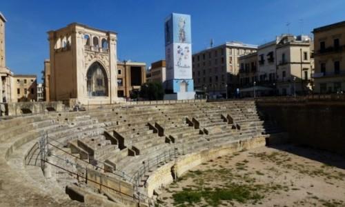 Zdjęcie WłOCHY / Salento / Lecce / amfiteatr rzymski