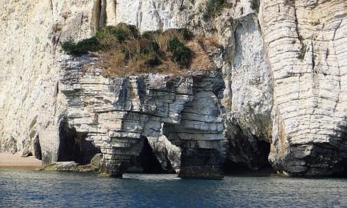 Zdjecie WłOCHY / Apulia / Półwysep Gargano / linia brzegowa