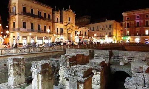 Zdjecie WłOCHY / Salento / Lecce / rzymskie ruiny