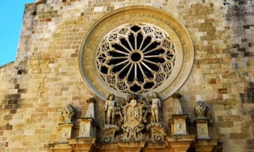 Zdjecie WłOCHY / Salento / Otranto / katedra - detal elewacji