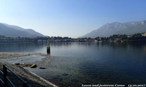 Zdjecie WłOCHY / Lombardia / Lecco nad jeziorem Como / Jezioro Como