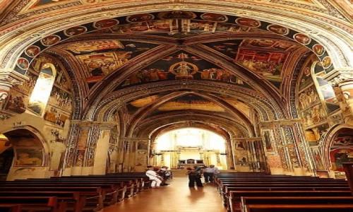 WłOCHY / Salento / Galatina / bazylika św. Katarzyny Aleksandryjskiej