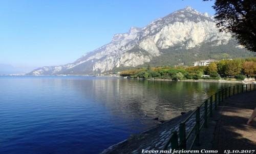 Zdjęcie WłOCHY / Lombardia / Lecco nad jeziorem Como / Jezioro Como