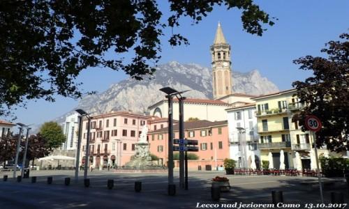 Zdjęcie WłOCHY / Lombardia / Lecco nad jeziorem Como / Lecco nad jeziorem Como