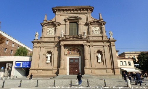 Zdjęcie WłOCHY / Lombardia / Bergamo - Citta Bassa (dolne miasto) / Kościół santi Bartolomelo e Stefano