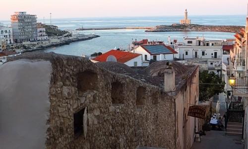 Zdjęcie WłOCHY / Apulia / Vieste / widok na Vieste