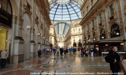 Zdjęcie WłOCHY / Lombardia / Mediolan / Galeria Wiktora Emanuela II