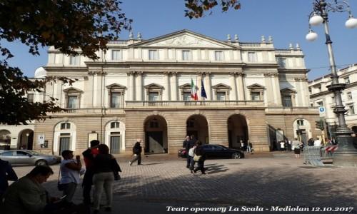 Zdjecie WłOCHY / Lombardia / Mediolan / La Scala